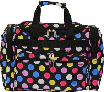 World Traveler Dots ll 16 inch Shoulder Duffle Bag Multi Dot II - World Traveler Rolling Duffels