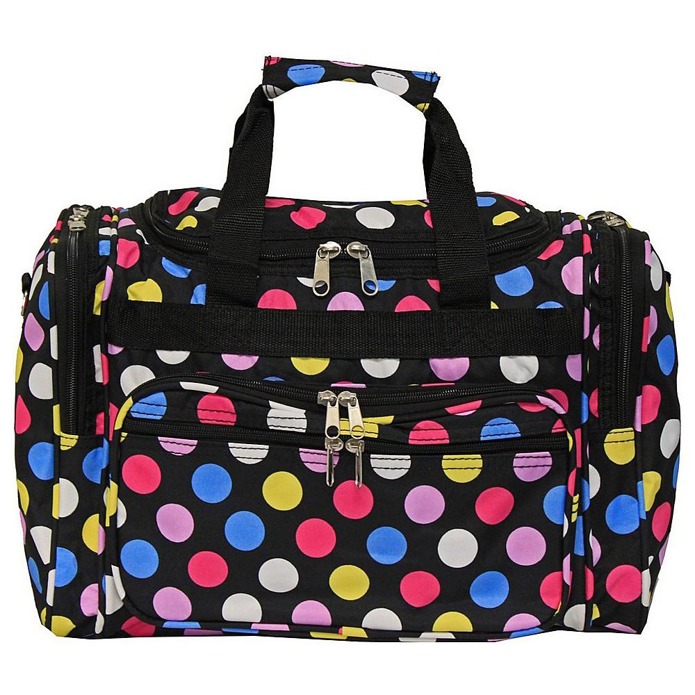 World Traveler Dots ll 16 Shoulder Duffle Bag Multi Dot II - World Traveler Rolling Duffels - Luggage, Rolling Duffels