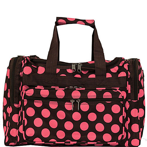 World Traveler Dots Ll  Shoulder Duffle Bag
