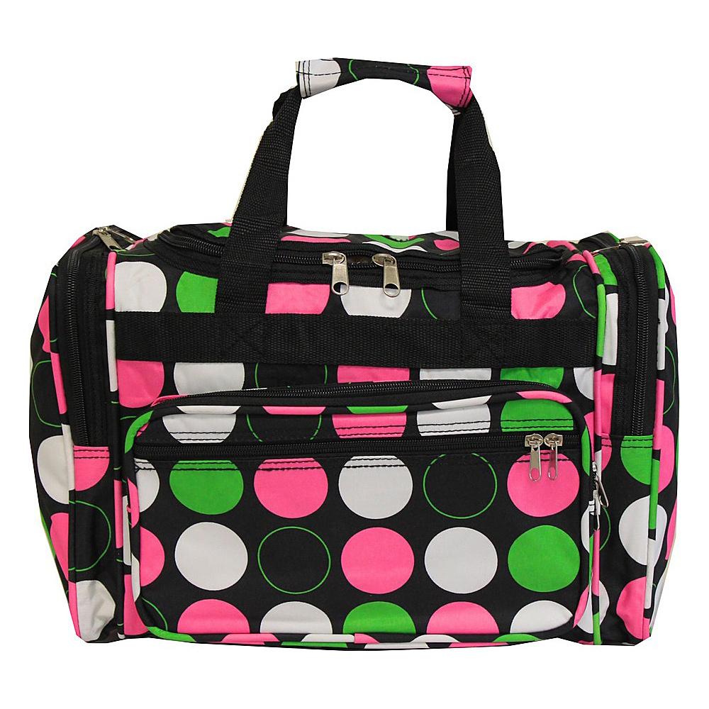 World Traveler Dots ll 16 Shoulder Duffle Bag New Multi Dot - World Traveler Rolling Duffels - Luggage, Rolling Duffels