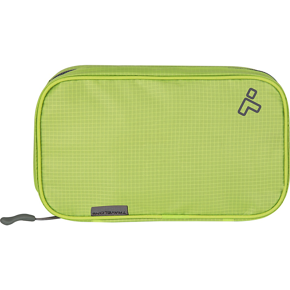 Travelon Compact Hanging Toiletry Kit Lime - Travelon Toiletry Kits - Travel Accessories, Toiletry Kits