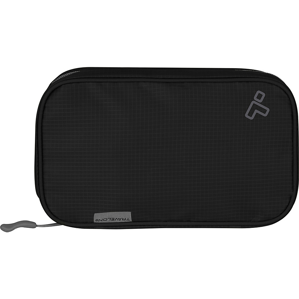 Travelon Compact Hanging Toiletry Kit Black - Travelon Toiletry Kits - Travel Accessories, Toiletry Kits