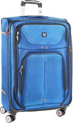 ful Alliance Series 24'' Upright Upright Spinner Cobalt - ful Softside Checked