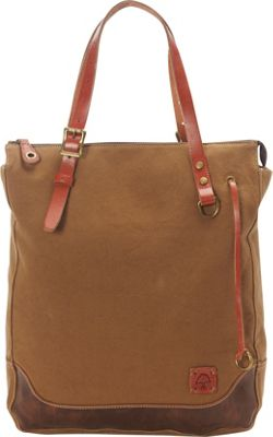TSD Redwood Shopper Khaki - TSD Fabric Handbags