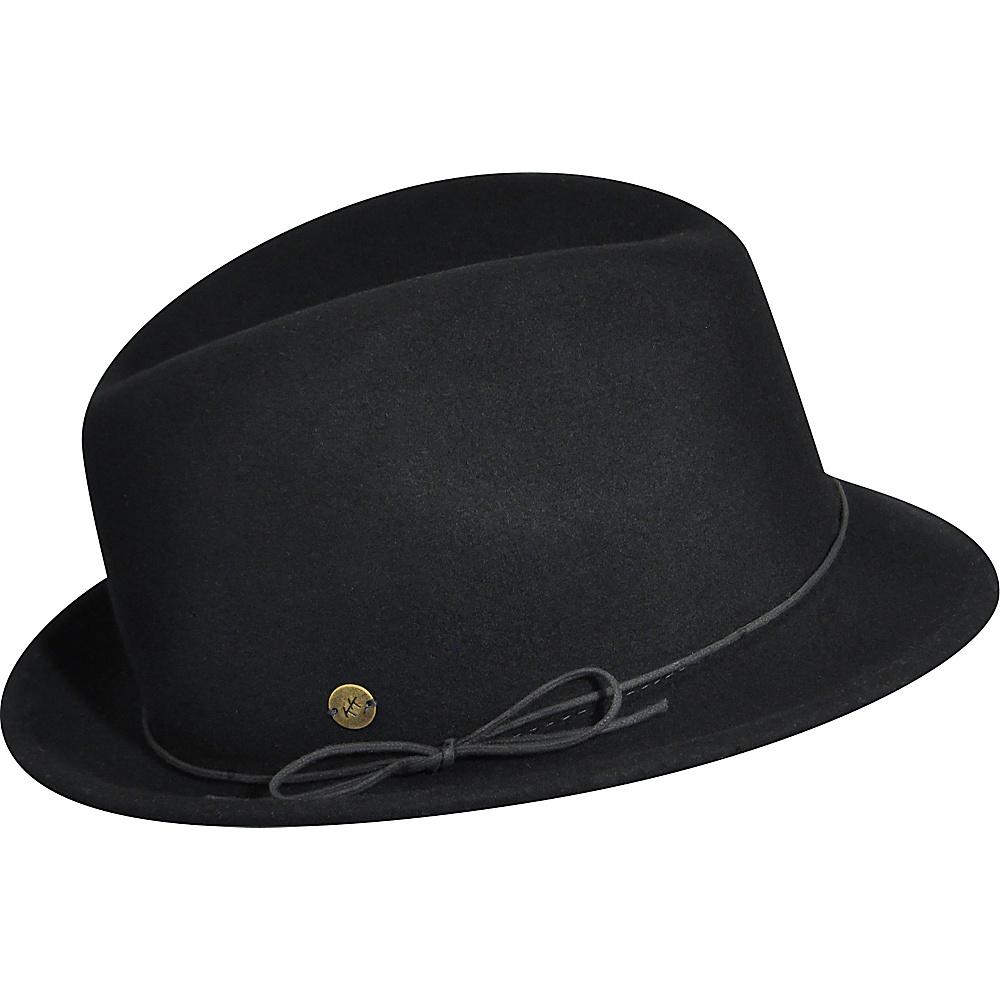 Karen Kane Hats Snapback Felt Fedora Black Medium Large Karen Kane Hats Hats Gloves Scarves