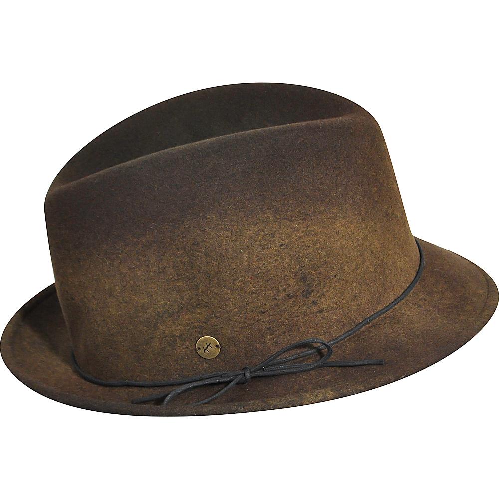 Karen Kane Hats Snapback Felt Fedora Coffee Swirl Small Medium Karen Kane Hats Hats Gloves Scarves