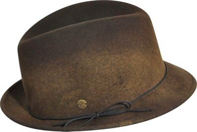 Karen Kane Hats Snapback Felt Fedora Coffee Swirl-Medium/Large - Karen Kane Hats Hats/Gloves/Scarves