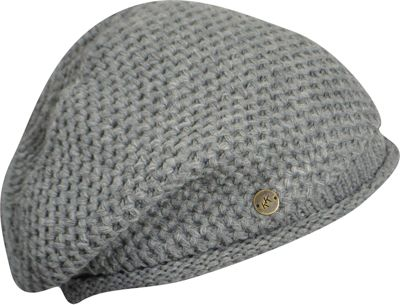 Karen Kane Hats Oversized Knit Beanie One Size - Light Grey Heather - Karen Kane Hats Hats/Gloves/Scarves