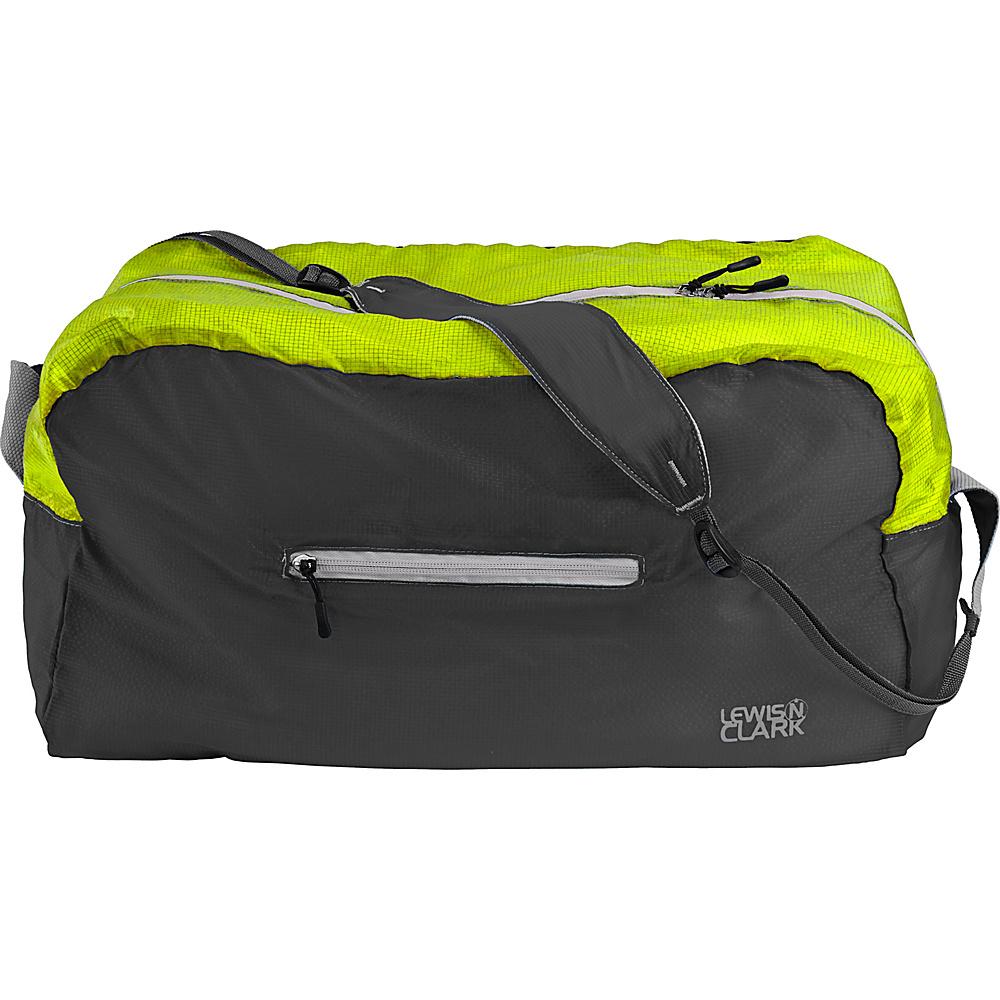 Lewis N. Clark ElectroLight Duffel Charcoal Green Lewis N. Clark Packable Bags