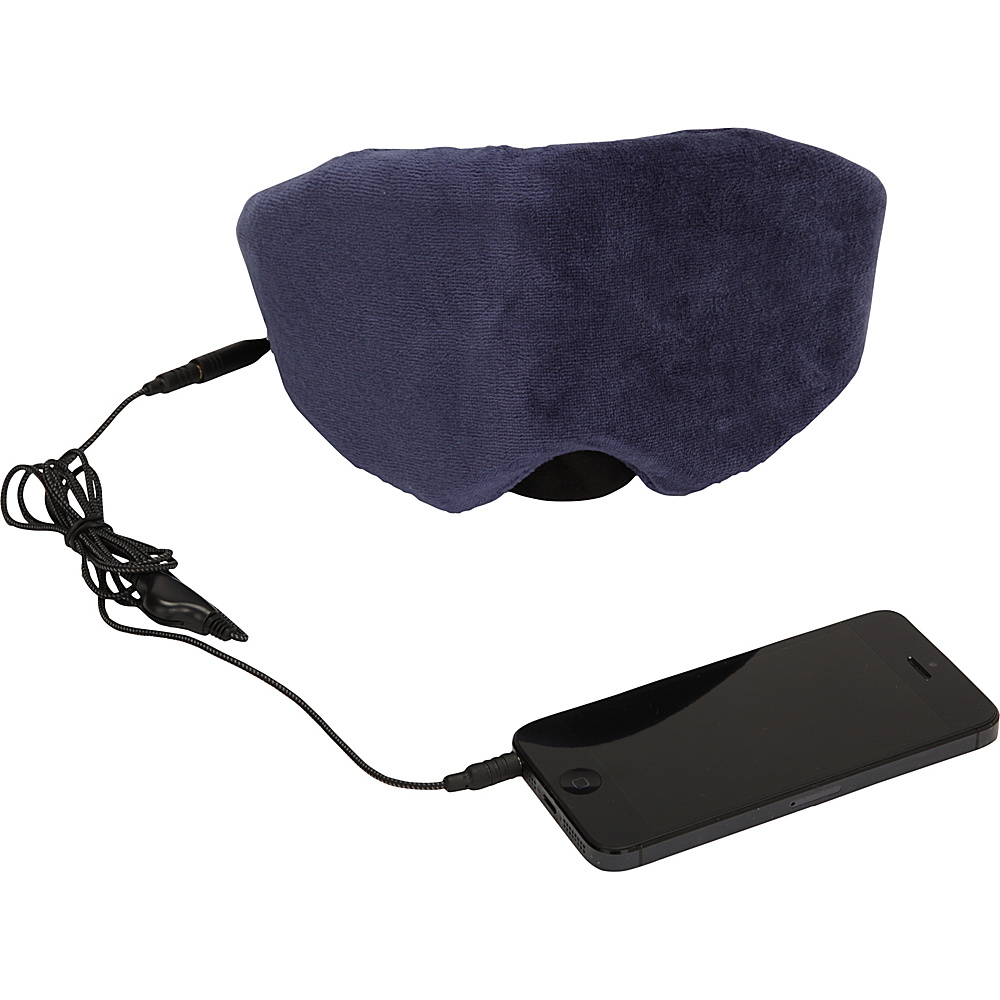 1Voice Sleep Headphones Eye Mask Blue 1Voice Headphones Speakers