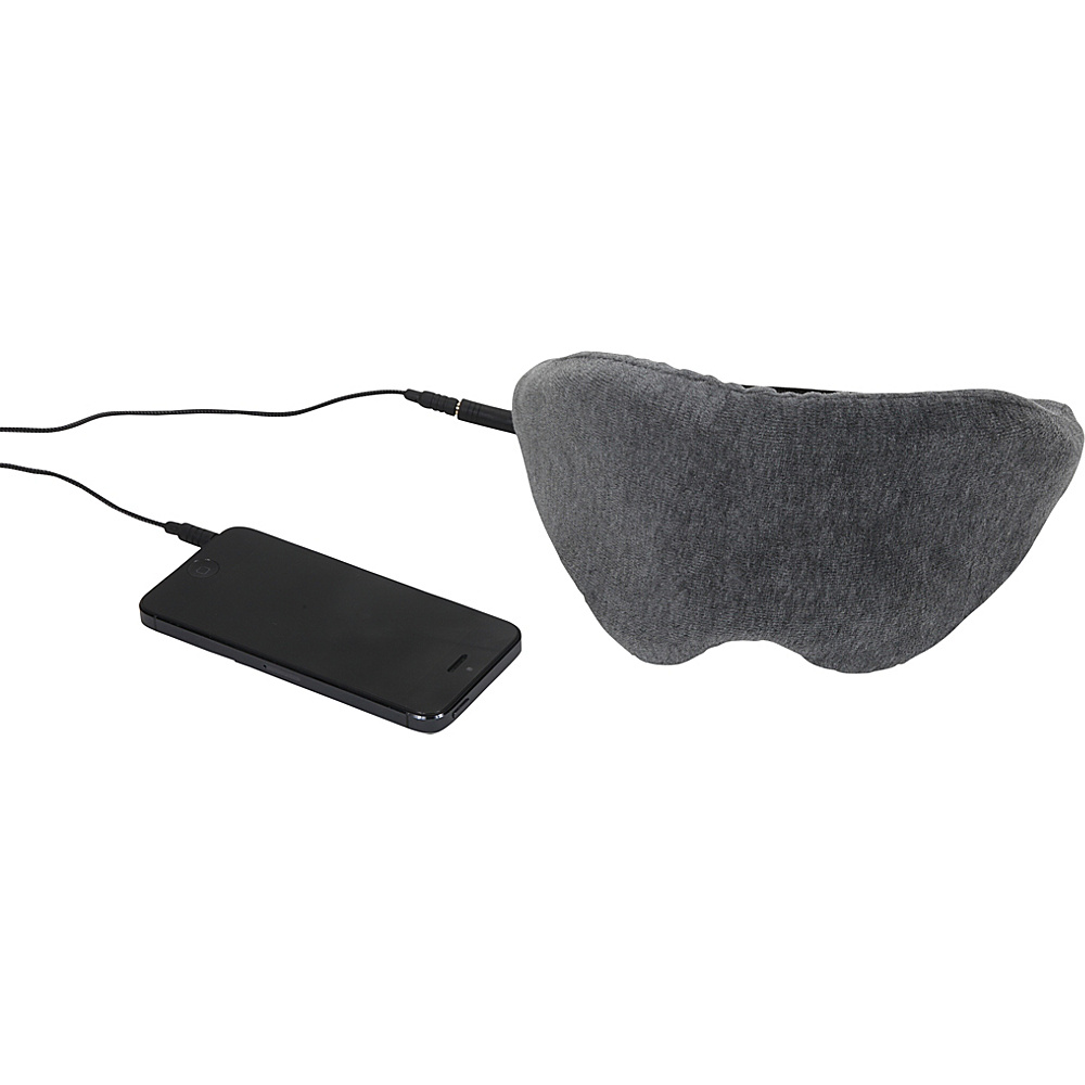 1Voice Sleep Headphones Eye Mask Grey 1Voice Headphones Speakers