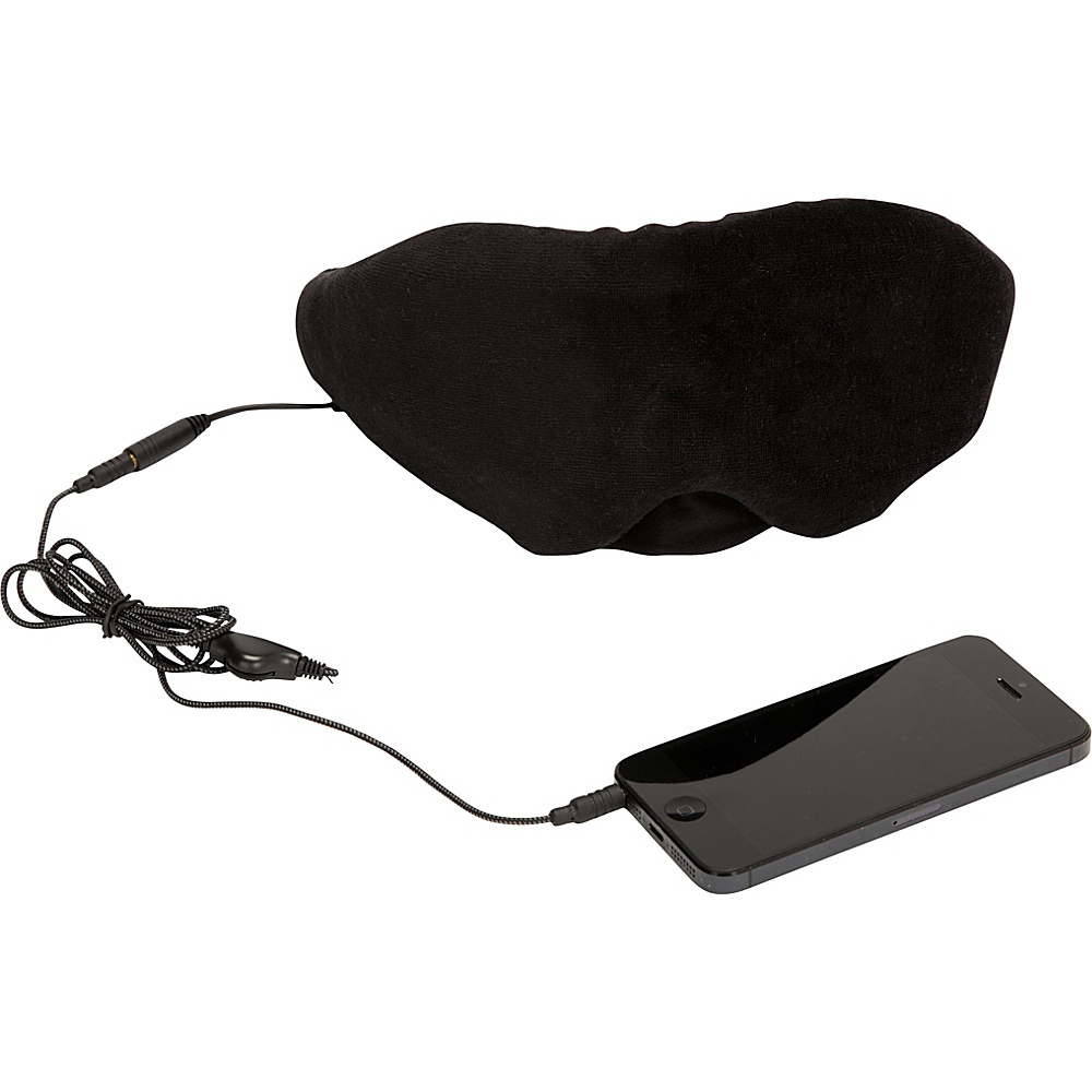1Voice Sleep Headphones Eye Mask Black 1Voice Headphones Speakers