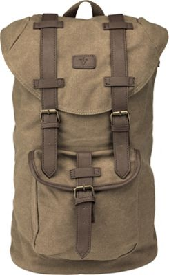 Image of 1Voice The Mapmaker Back Pack FYL Collection - 11,000mAh Built-in Brown - 1Voice Laptop Backpacks