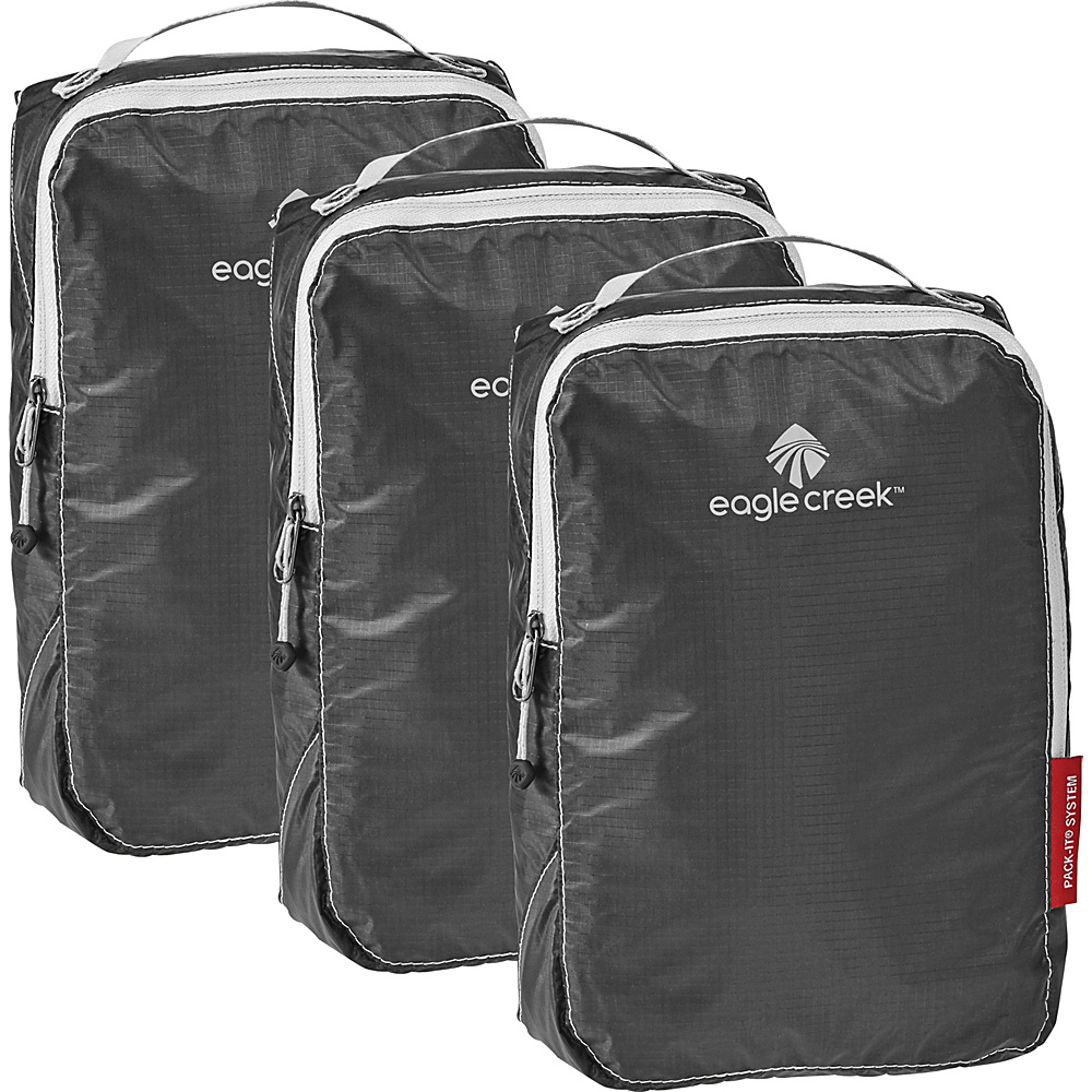 Eagle Creek Pack-It Specter Half Cube Set Ebony - Eagle Creek Travel Organizers - Travel Accessories, Travel Organizers