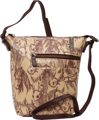Donna Sharp Penny Crossbody - Exclusive Thoroughbred - Donna Sharp Fabric Handbags