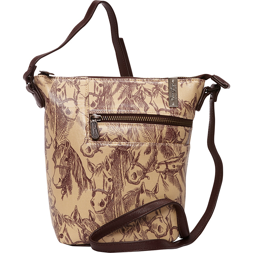Donna Sharp Penny Crossbody Exclusive Thoroughbred Donna Sharp Fabric Handbags