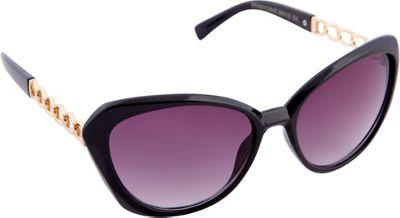 Nanette Nanette Lepore Sunglasses Cat Eye with Metal Chain Sunglasses Black/Rose Gold - Nanette Nanette Lepore Sunglasses Sunglasses