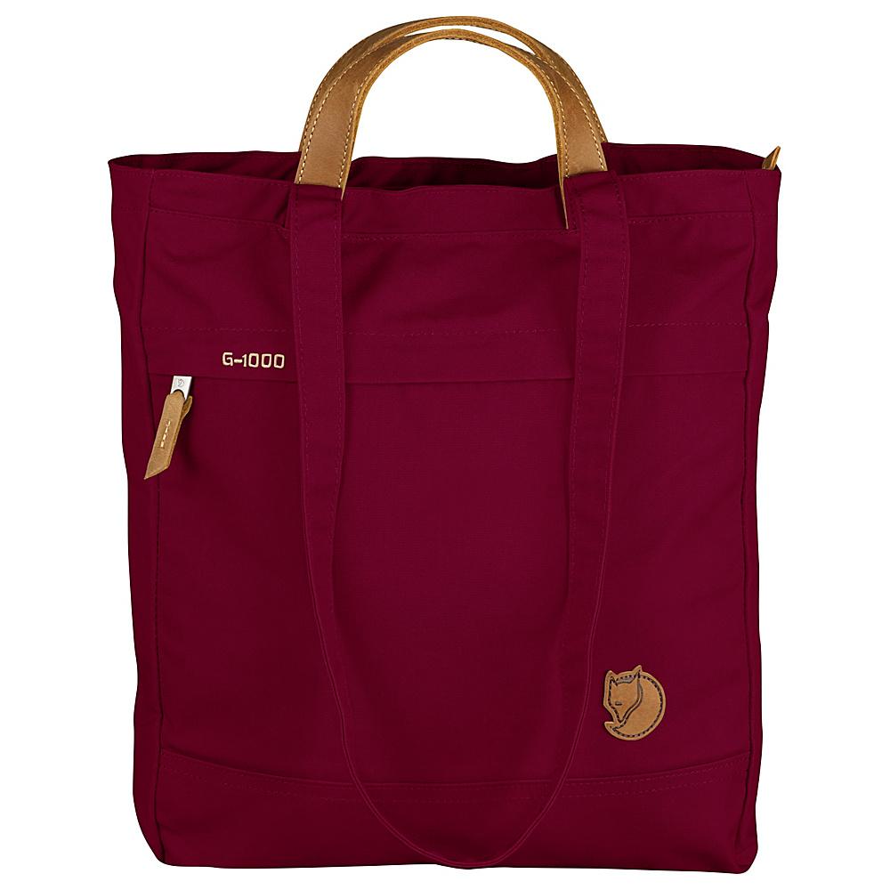 Fjallraven Totepack No.1 Plum - Fjallraven Fabric Handbags - Handbags, Fabric Handbags
