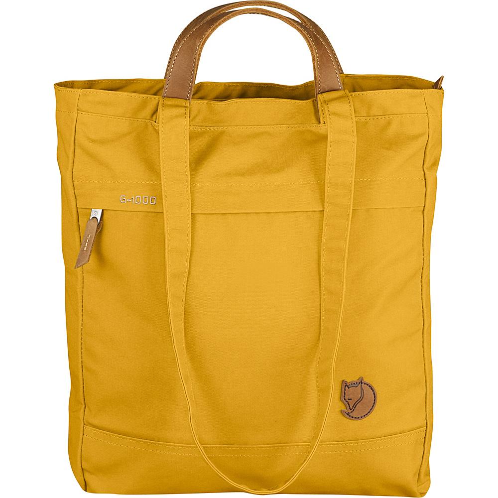 Fjallraven Totepack No.1 Ochre - Fjallraven Fabric Handbags - Handbags, Fabric Handbags
