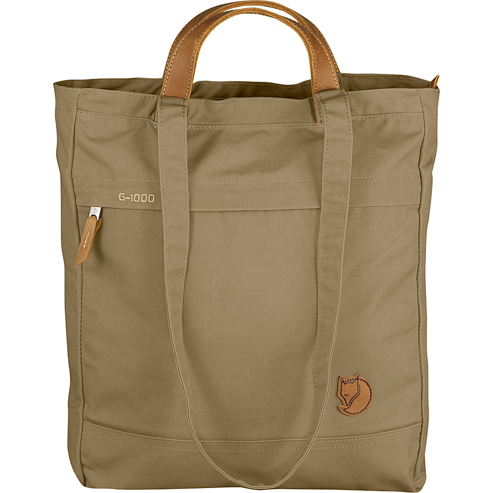 Fjallraven Totepack No.1 Sand - Fjallraven Fabric Handbags - Handbags, Fabric Handbags