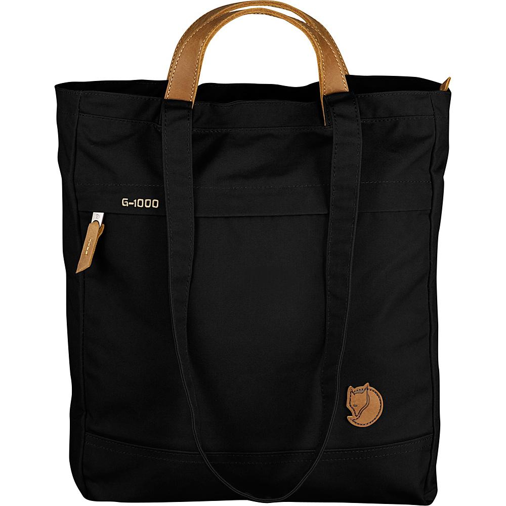 Fjallraven Totepack No.1 Black - Fjallraven Fabric Handbags - Handbags, Fabric Handbags