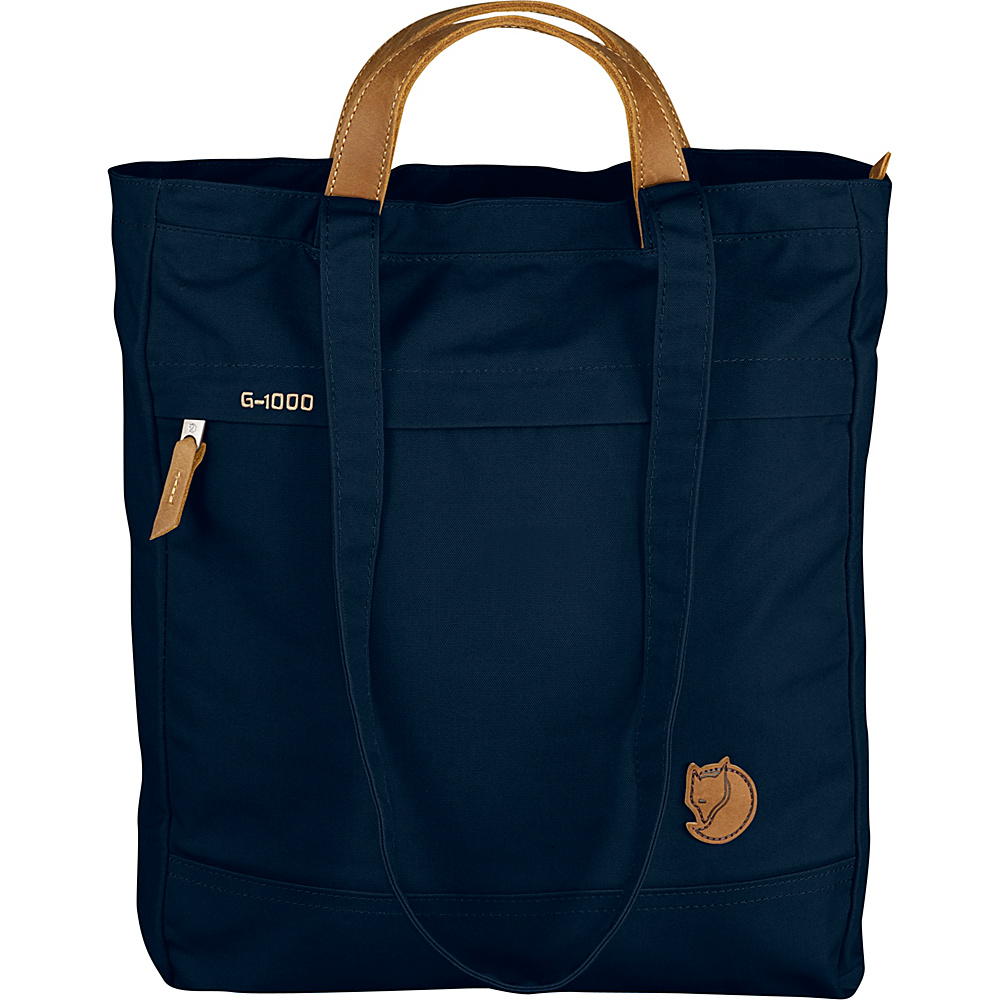 Fjallraven Totepack No.1 Dark Navy - Fjallraven Fabric Handbags - Handbags, Fabric Handbags
