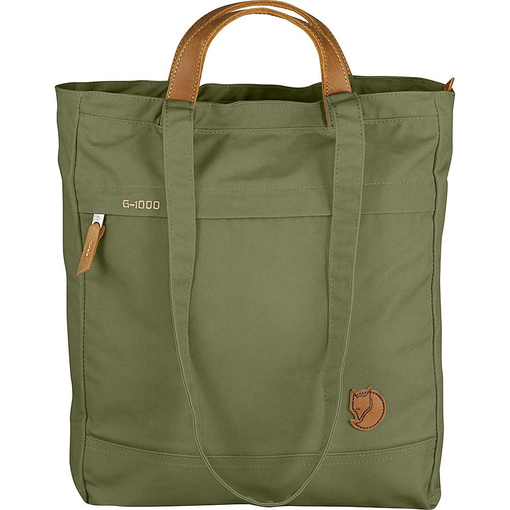 Fjallraven Totepack No.1 Green - Fjallraven Fabric Handbags - Handbags, Fabric Handbags