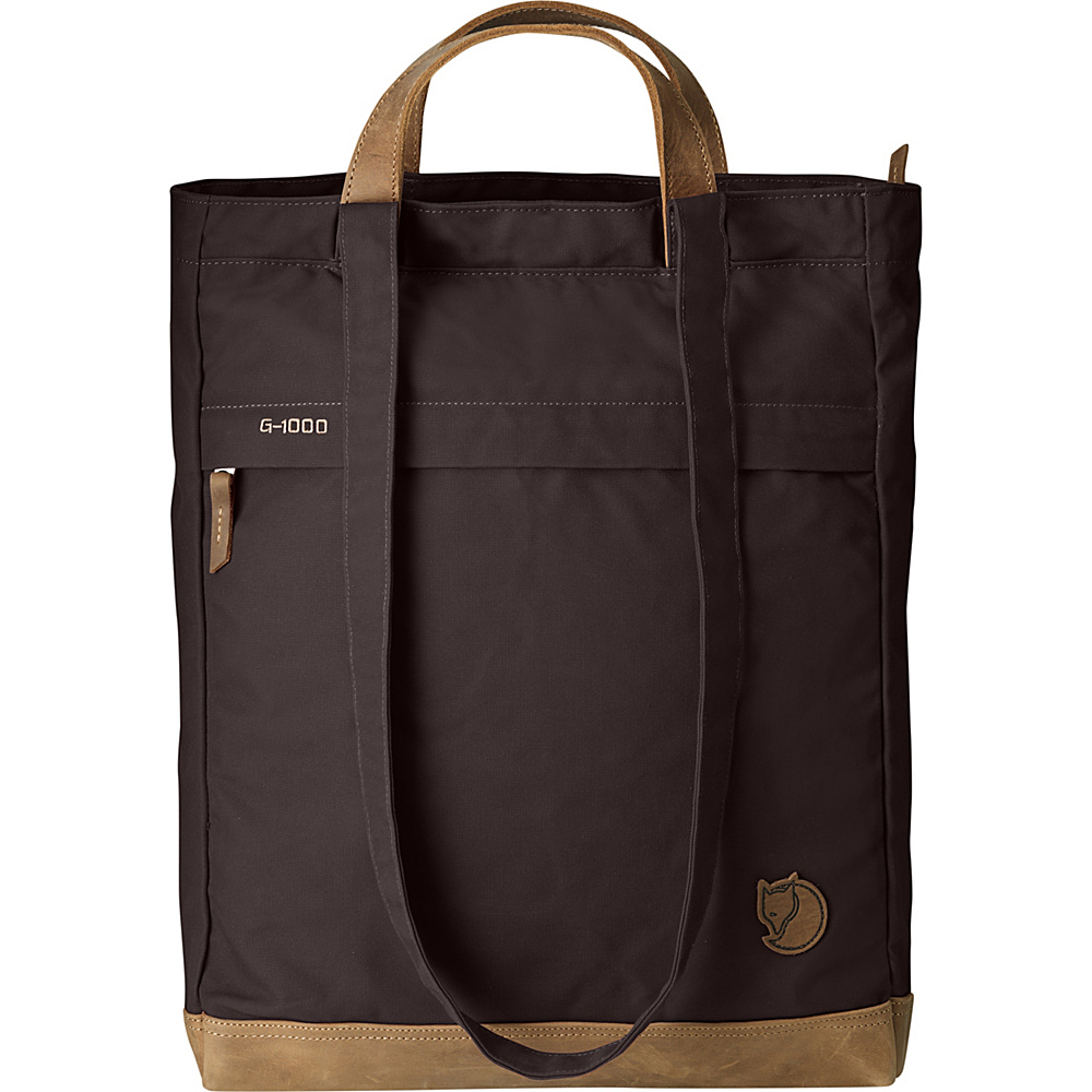 Fjallraven Totepack No.2 Hickory Brown - Fjallraven Leather Handbags - Handbags, Leather Handbags