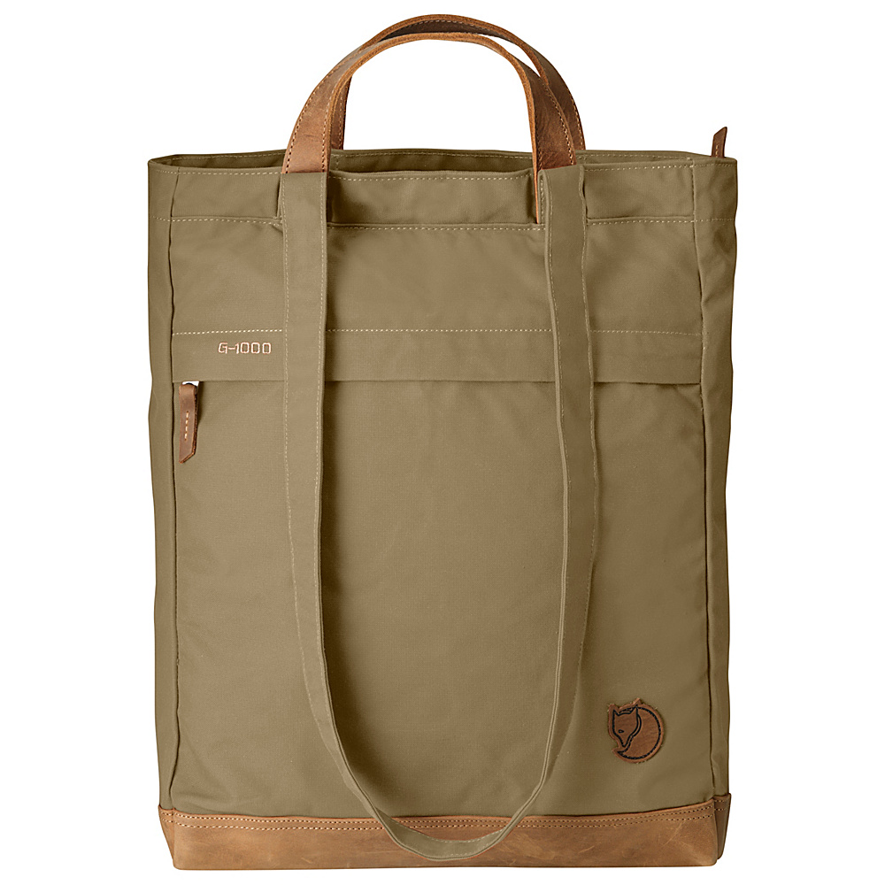 Fjallraven Totepack No.2 Sand - Fjallraven Fabric Handbags - Handbags, Fabric Handbags