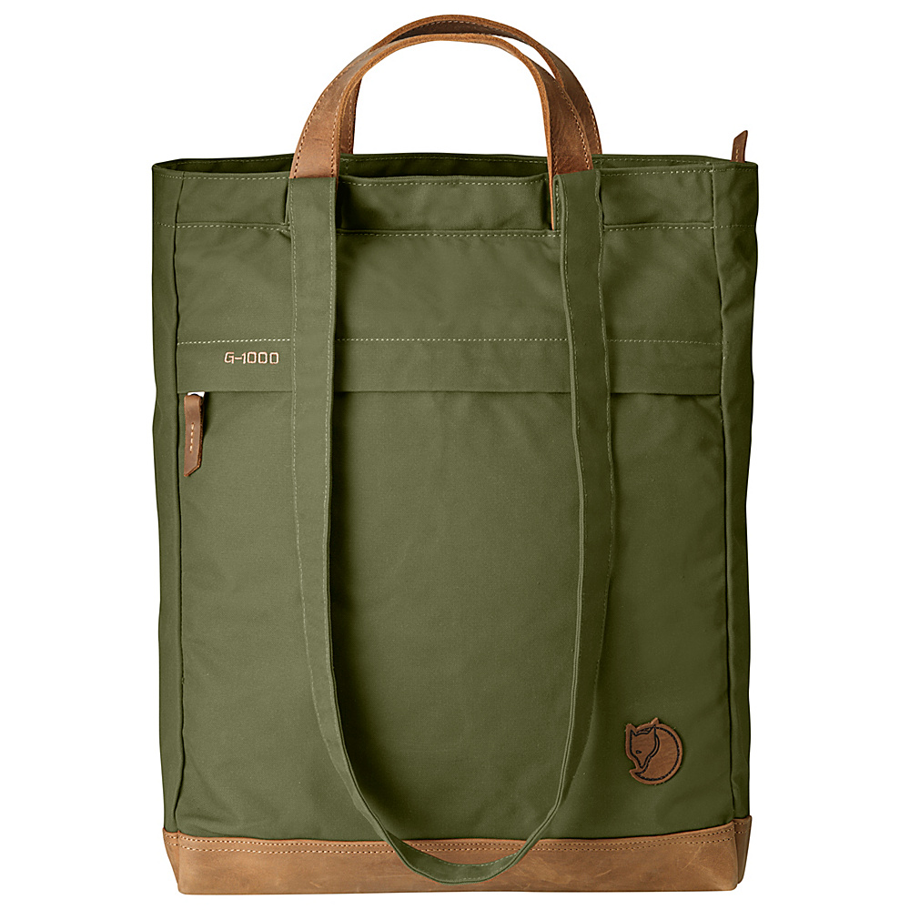 Fjallraven Totepack No.2 Green - Fjallraven Fabric Handbags - Handbags, Fabric Handbags