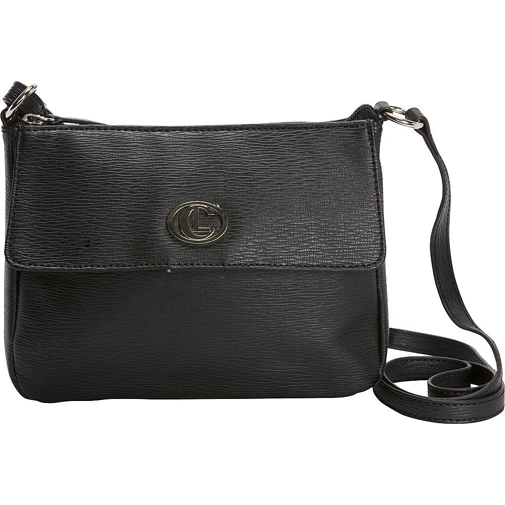 Aurielle Carryland Bleeker Mini Crossbody Black Aurielle Carryland Manmade Handbags