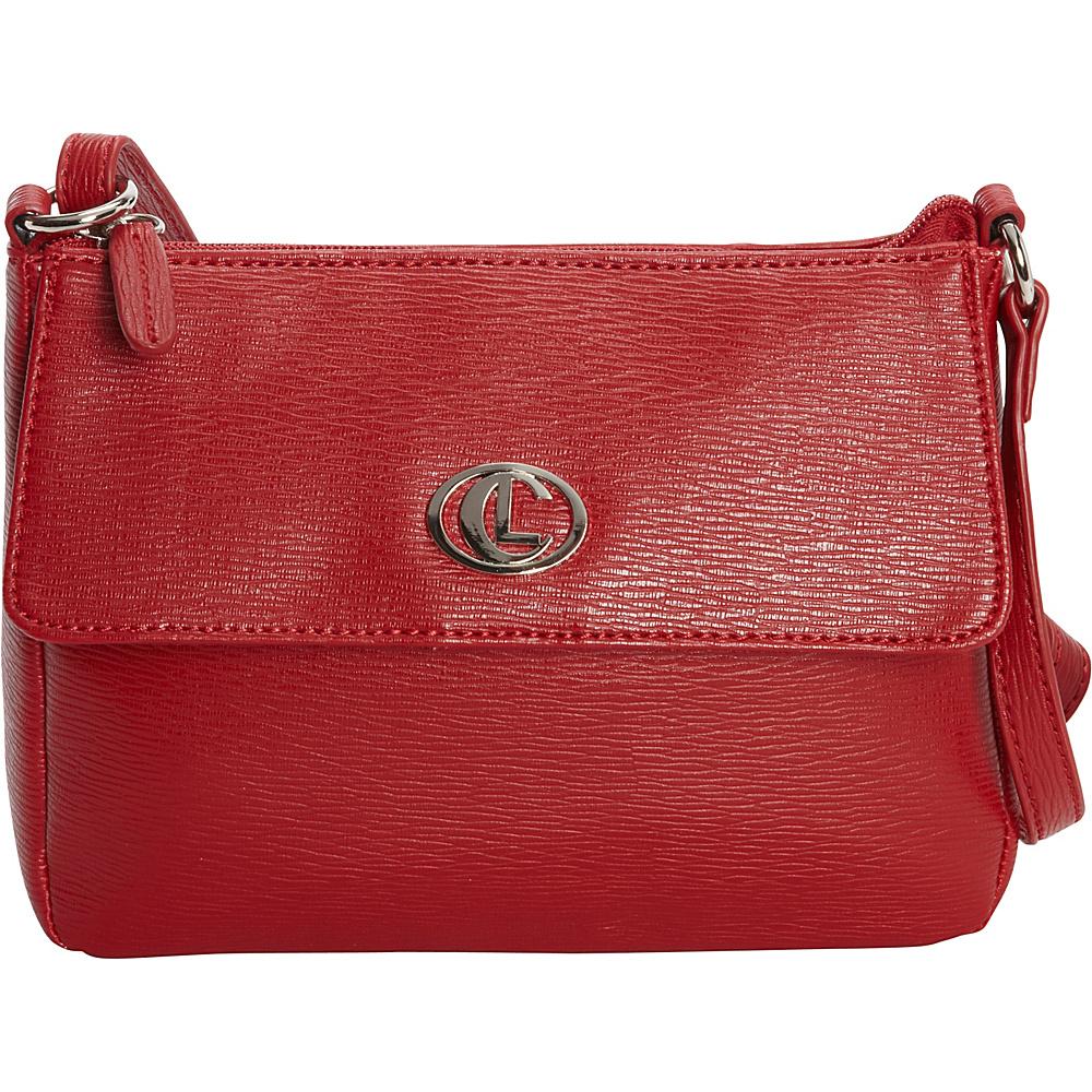 Aurielle Carryland Bleeker Mini Crossbody Red Aurielle Carryland Manmade Handbags