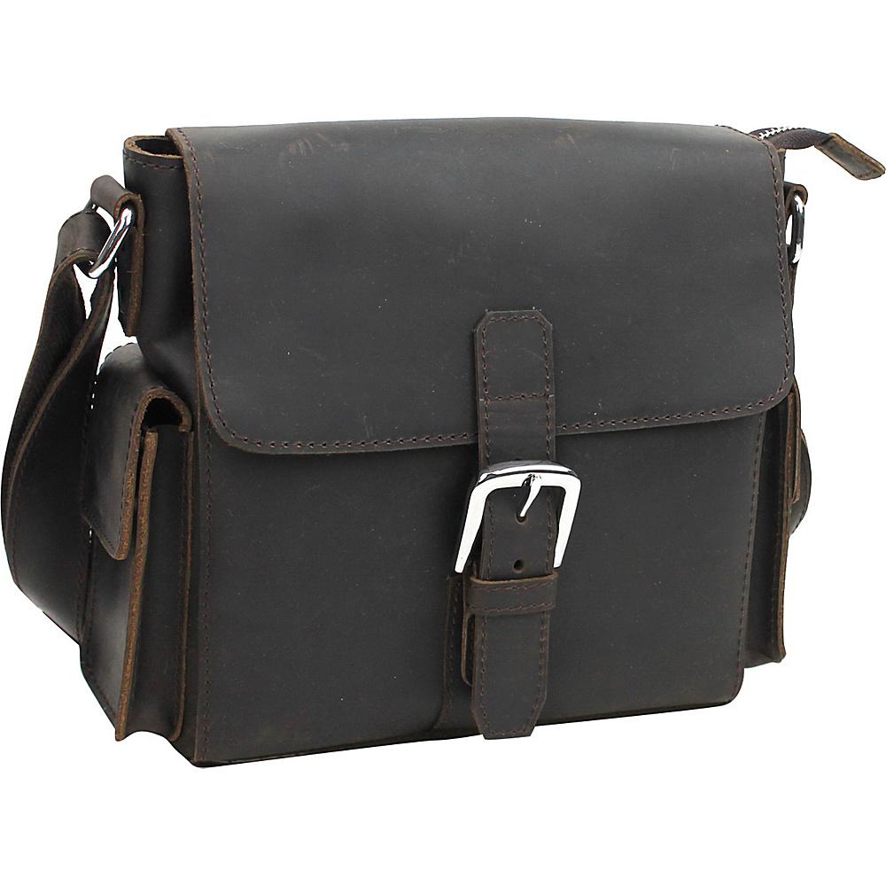 Vagabond Traveler Leather Crossbody Shoulder Bag Dark Brown - Vagabond Traveler Leather Handbags - Handbags, Leather Handbags