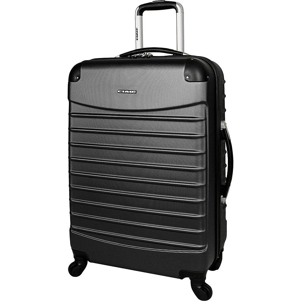 "CIAO! Voyager 24"" Spinner Black - CIAO! Hardside Luggage"