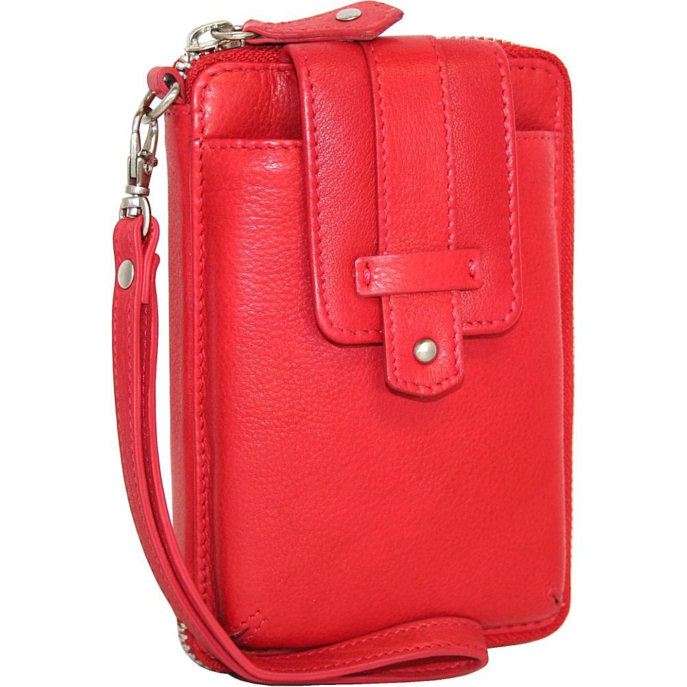Nino Bossi It s a Phone Wristlet Red Nino Bossi Women s Wallets