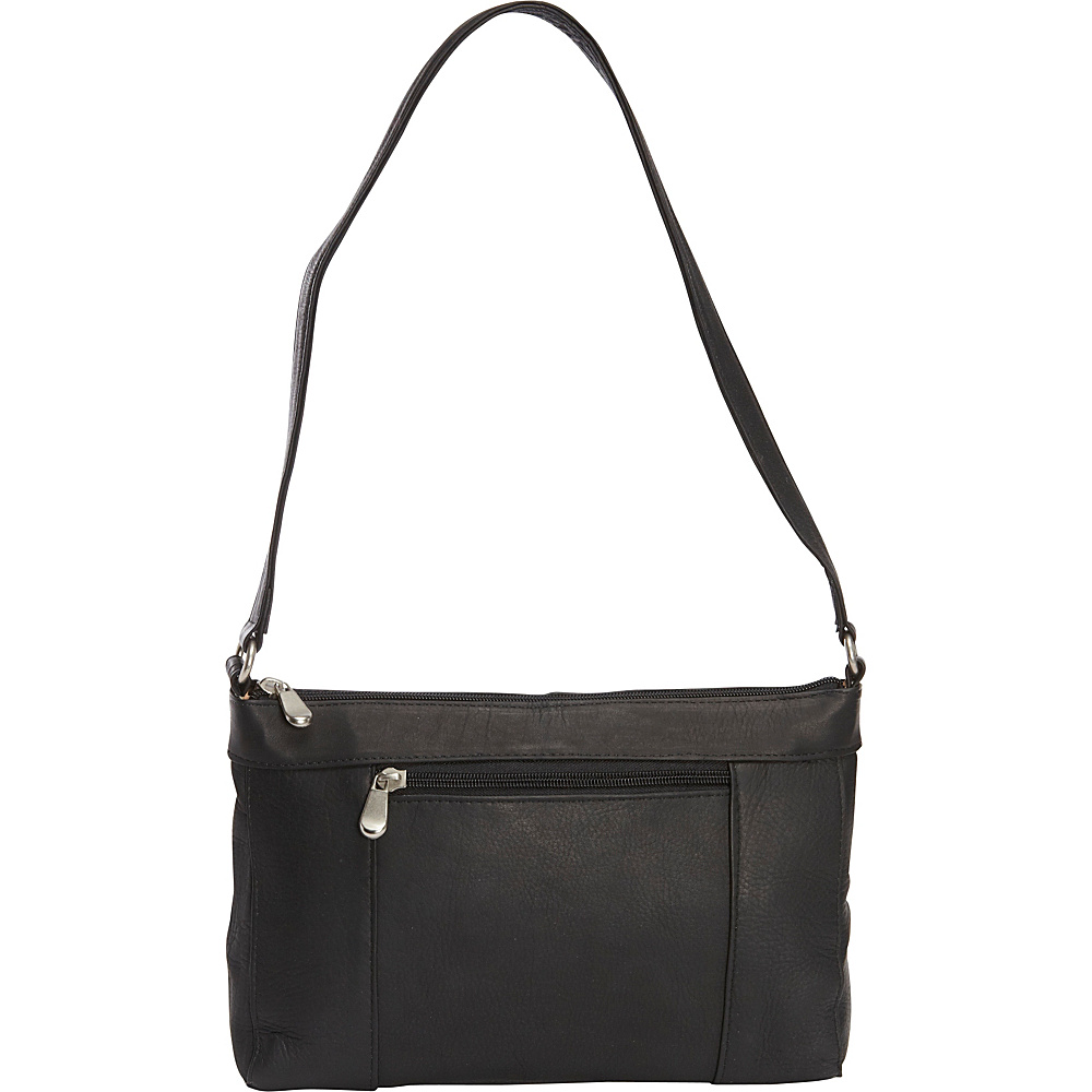 Le Donne Leather Ava Shoulder Bag Black - Le Donne Leather Leather Handbags - Handbags, Leather Handbags