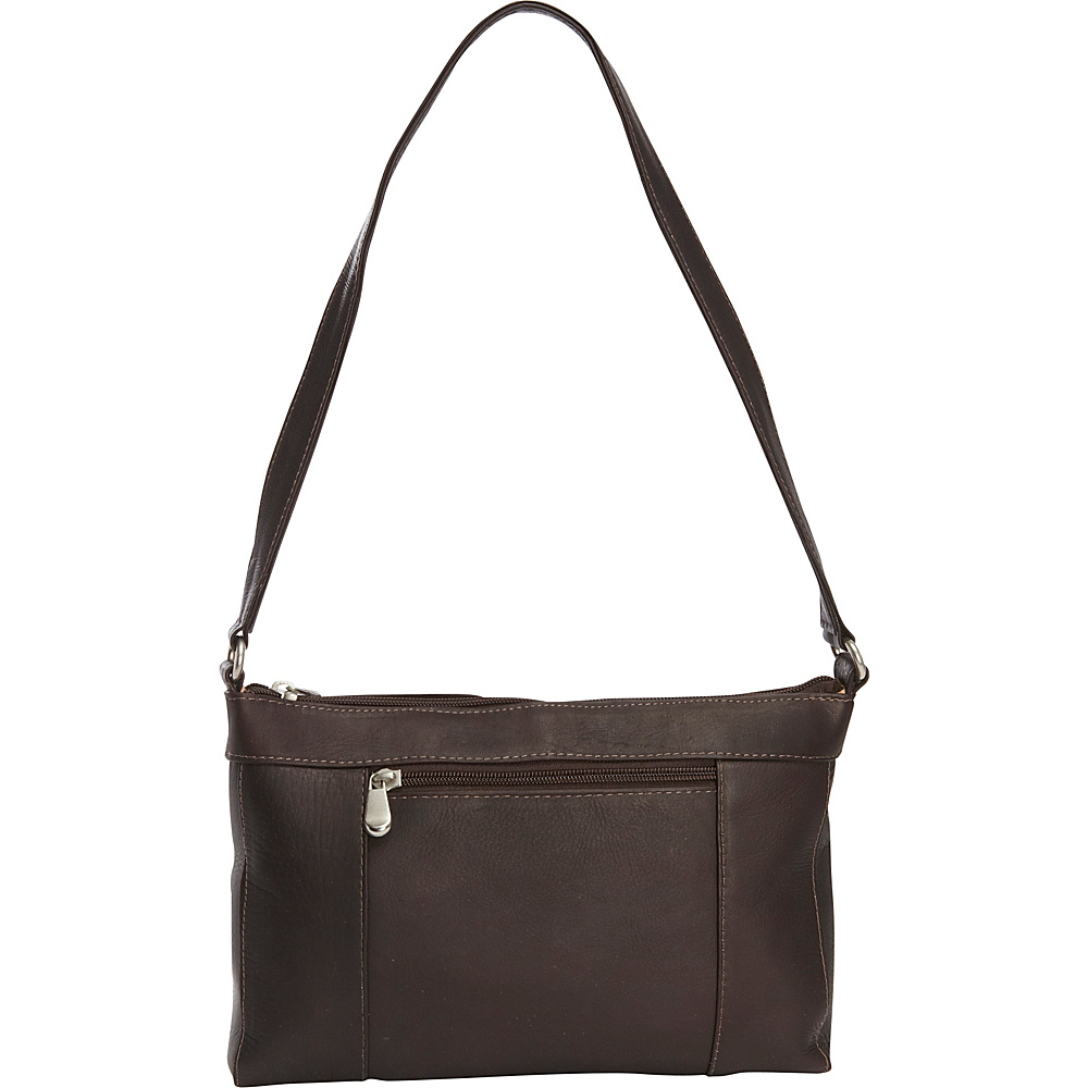 Le Donne Leather Ava Shoulder Bag Cafe - Le Donne Leather Leather Handbags - Handbags, Leather Handbags