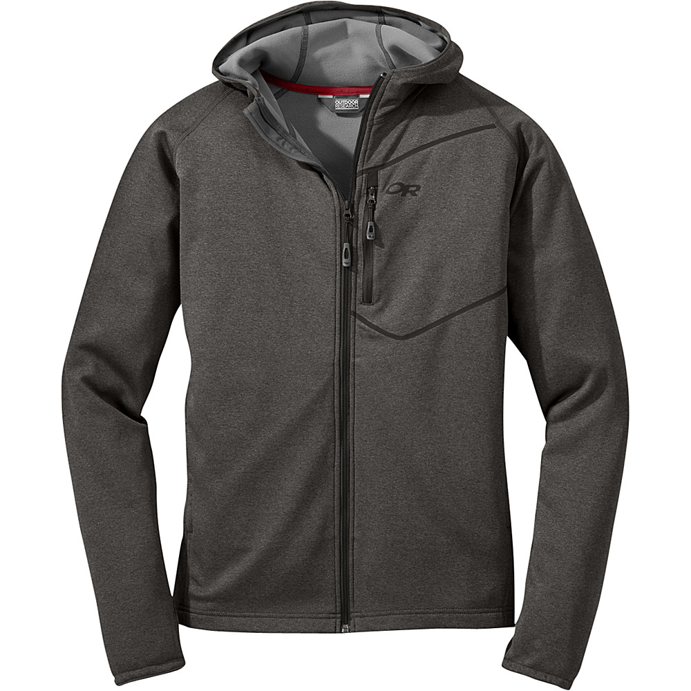 Outdoor Research Mens Starfire Hoody L - Charcoal - Outdoor Research Mens Apparel - Apparel & Footwear, Men's Apparel