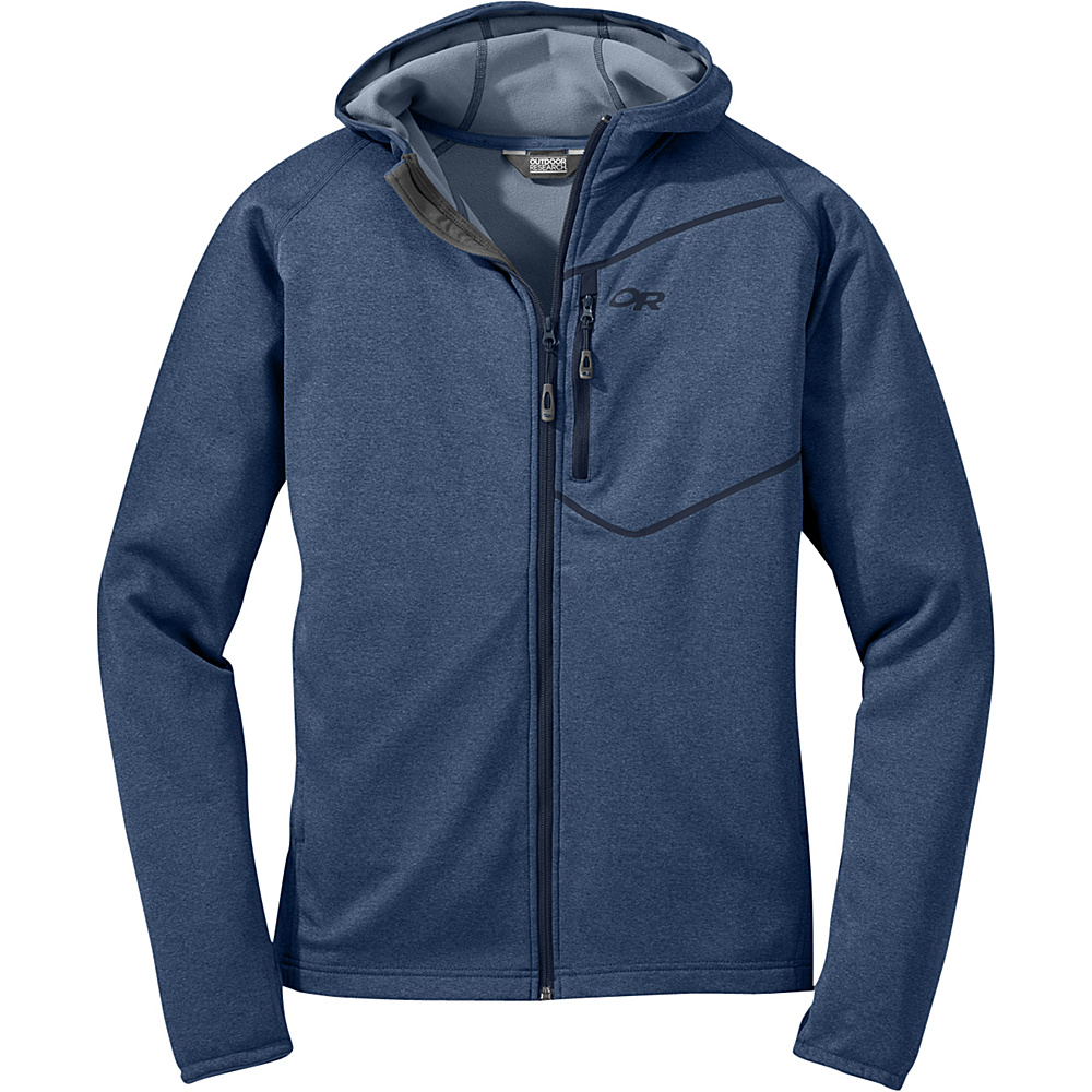 Outdoor Research Mens Starfire Hoody L - Dusk/Night - Outdoor Research Mens Apparel - Apparel & Footwear, Men's Apparel