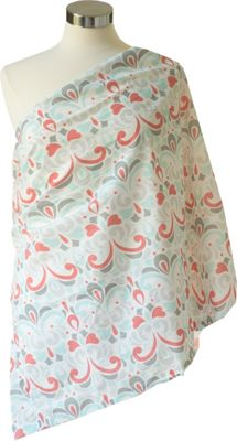 Itzy Ritzy Nursing Happens Muslin Infinity Breastfeeding Scarf Brocade Bliss - Itzy Ritzy Diaper Bags & Accessories