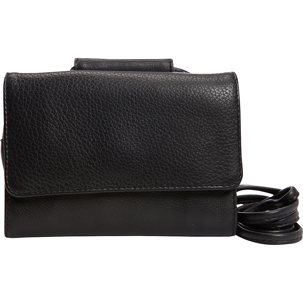 Derek Alexander Half Flap Wallet/Phone Black - Derek Alexander Womens Wallets - Women's SLG, Women's Wallets