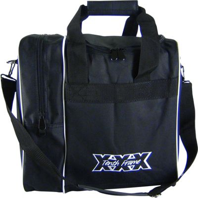 Tenth Frame Tenth Frame Venture Single Tote Black - Tenth Frame Bowling Bags