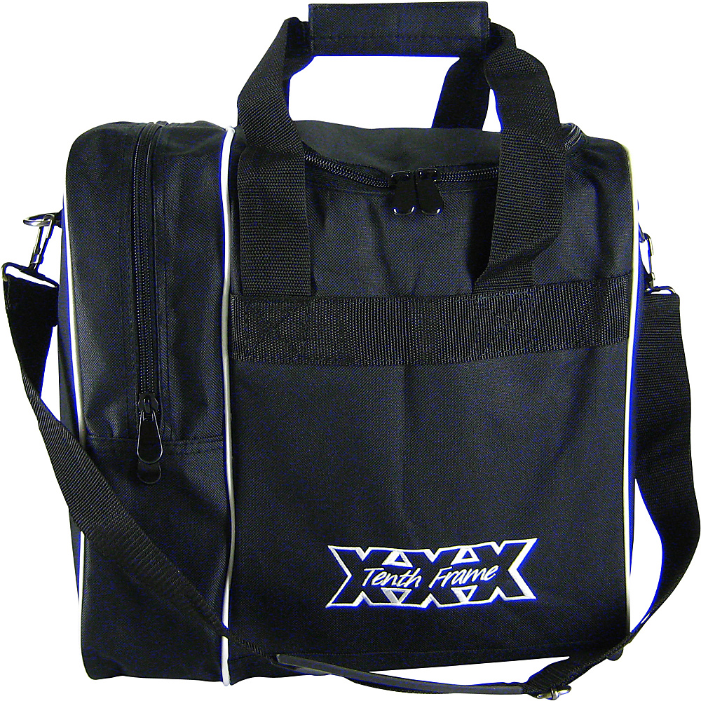 Tenth Frame Venture Single Tote Black - Tenth Frame Bowling Bags