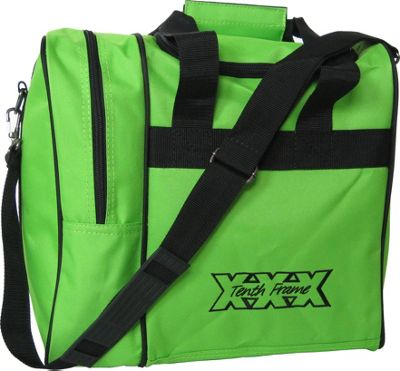 Tenth Frame Venture Single Tote Lime - Tenth Frame Bowling Bags
