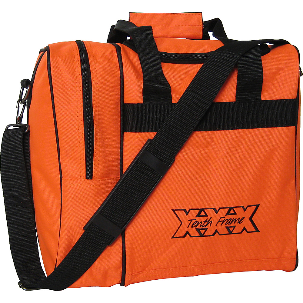 Tenth Frame Venture Single Tote Orange - Tenth Frame Bowling Bags