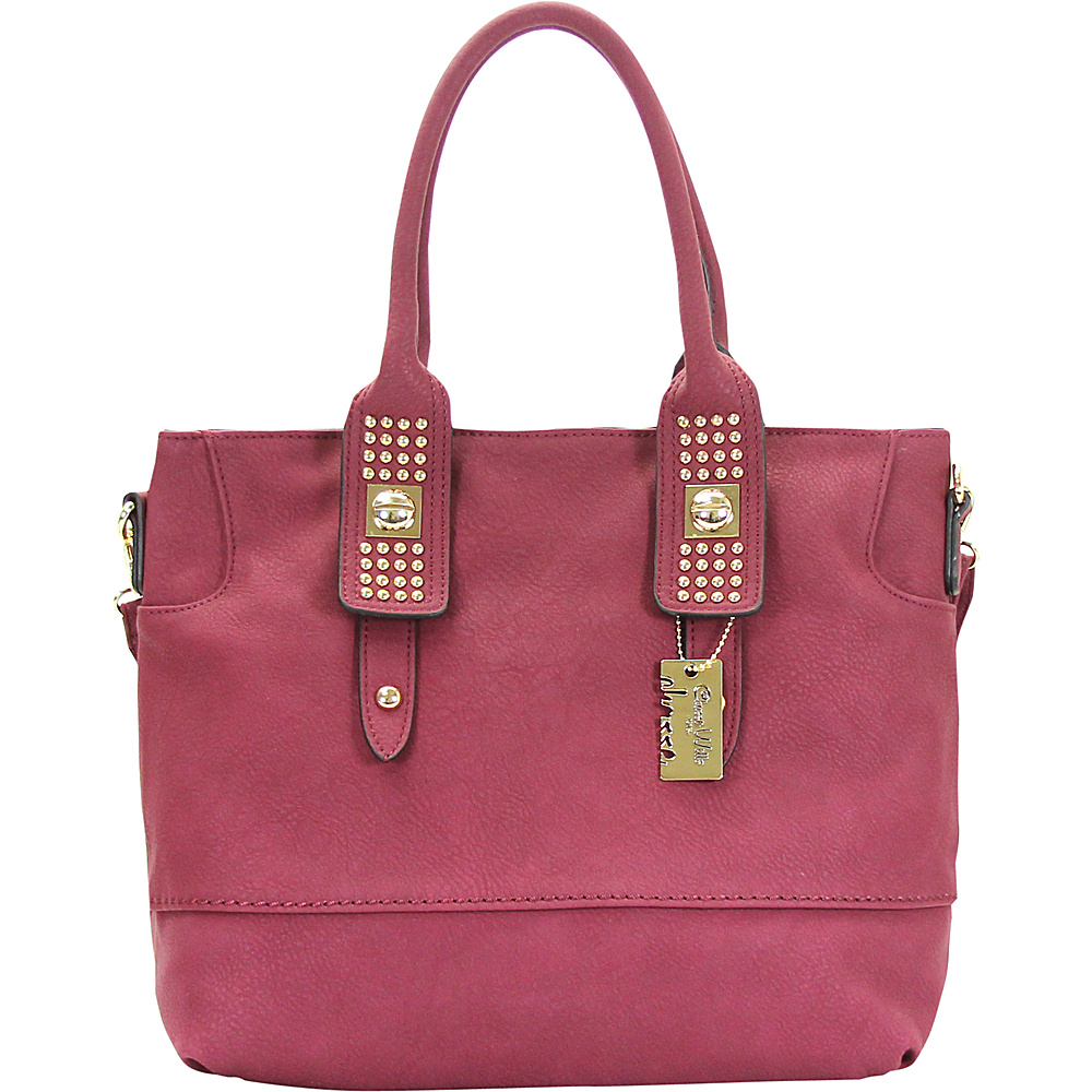 Chasse Wells Aimer Bouclier Tote Berry Chasse Wells Manmade Handbags