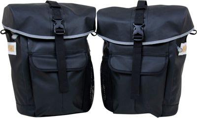 Detours Interlaken Pannier Set Black - Detours Cycling Bags