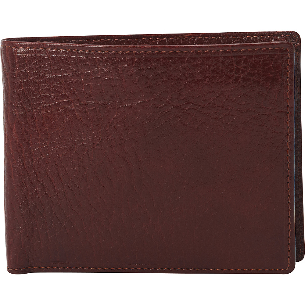 Clava Men s Bifold Wallet Glazed Italian Cognac Clava Men s Wallets
