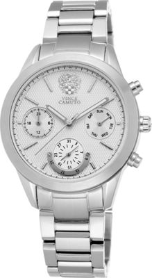 Vince Camuto Watches Ladies Stainless Steel Chronograph Bracelet Watch Silver - Vince Camuto Watches Watches