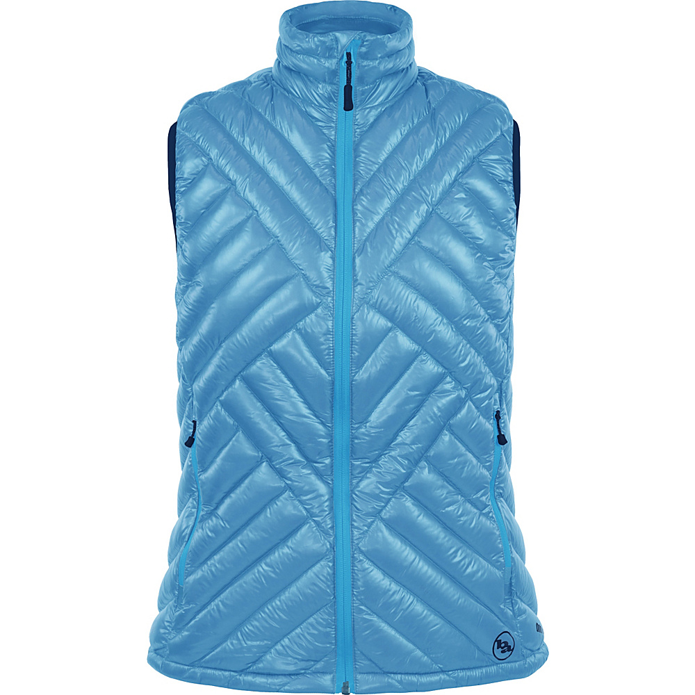 Big Agnes Womens Juel Vest M Blue Topaz Blue Topaz Big Agnes Women s Apparel